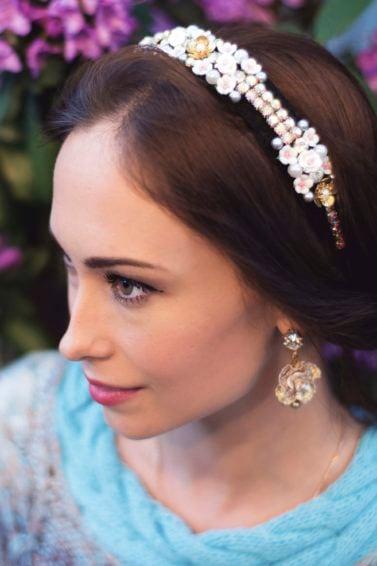 formal hairstyles headband options
