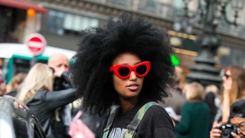 natural hair types big afro