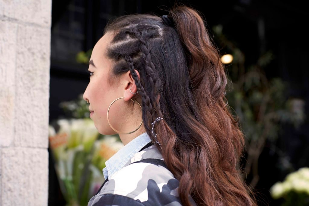 '90s hairstyles asian cornrows