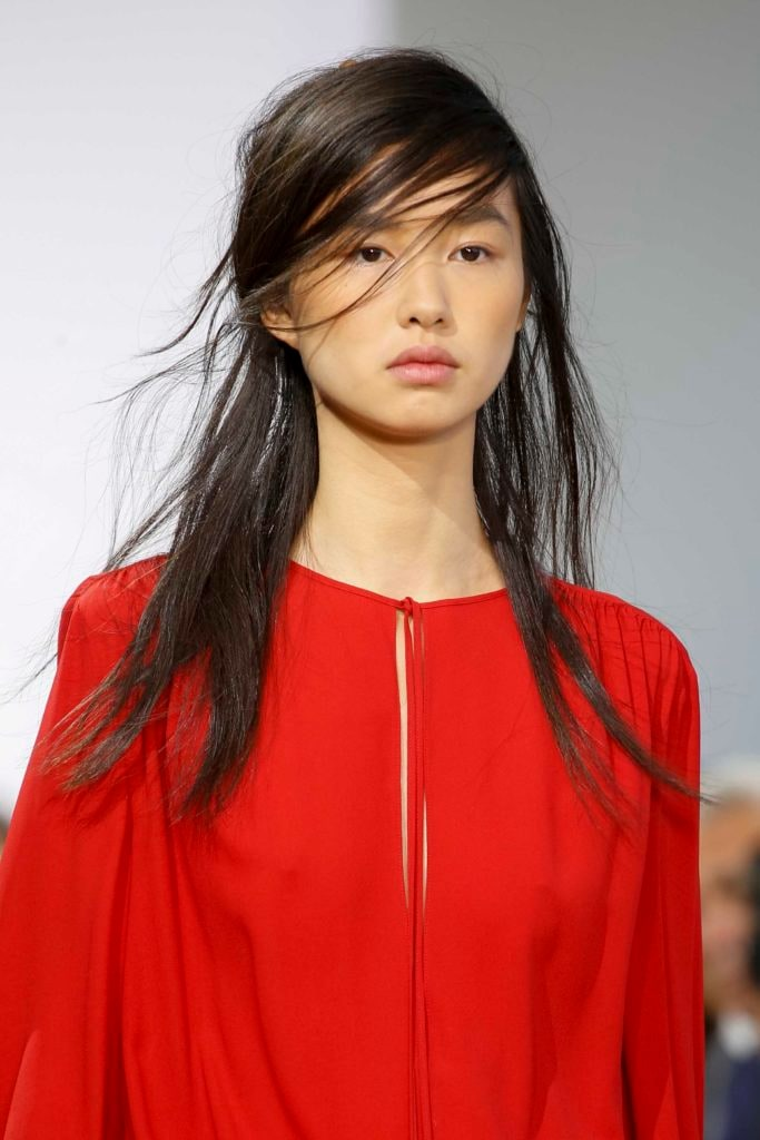 Asian Straight Layered Hair With Side Bangs Hey, Dollface: ...