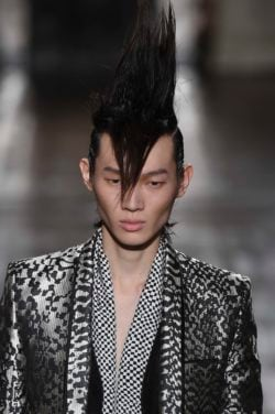 punk hairstyles for men mohawk