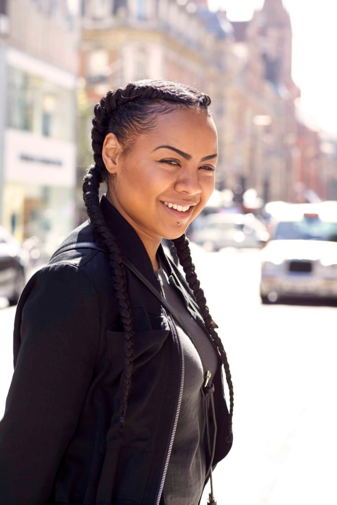 Growing out relaxed hair cornrow braids