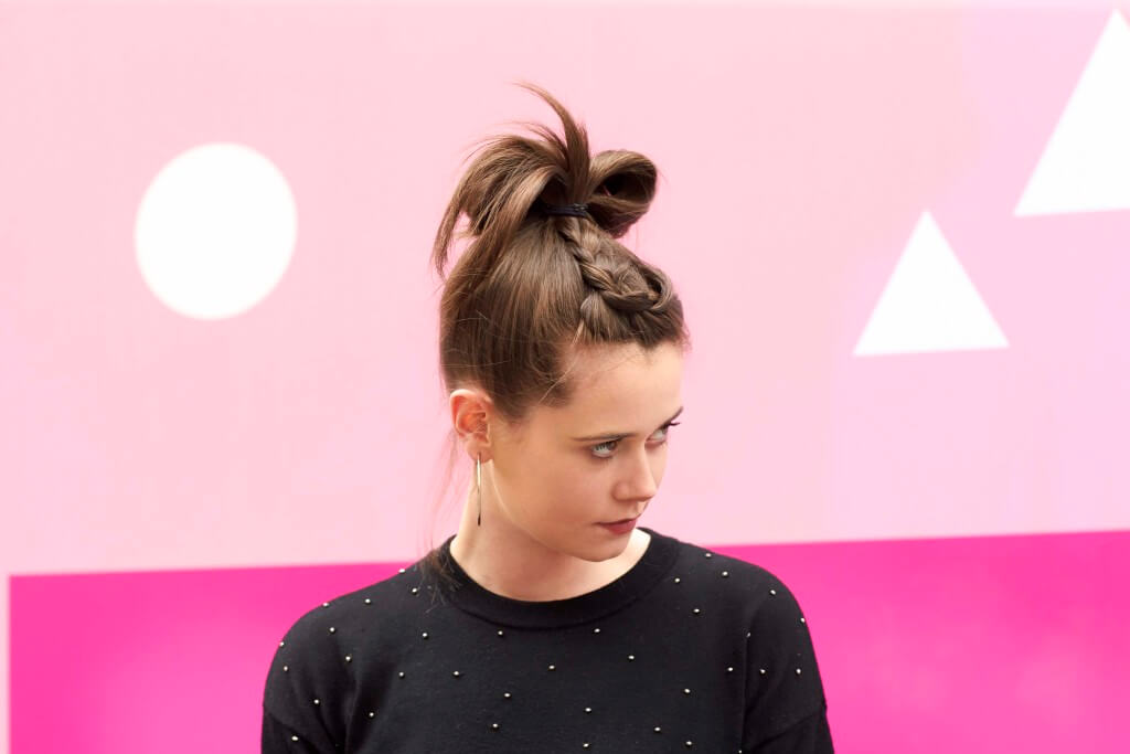 hair hacks for everyday life the looped bun