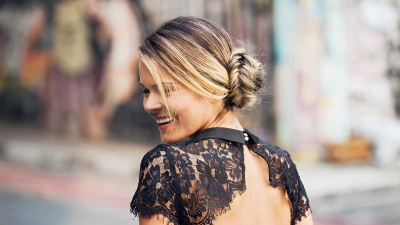 Superb Side Bun Hairstyles How To Create This Hairstyle With A Fishtail Short Hairstyles Gunalazisus