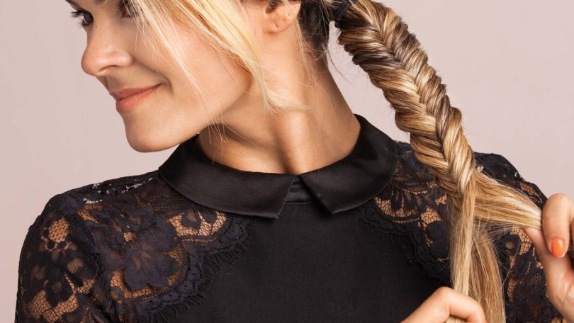 5 Minute Hairstyles Braids: How To Do A Fishtail Braid In 5 Minutes Or Less