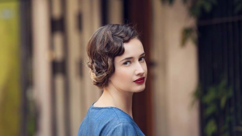 Flapper Hairstyles back to post flapper hairstyles for long hair Double Tap To Zoom
