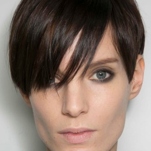 best styling wax for short hair the best hair wax for your pixie cut 4132 | fringe pixie crop dark hair tom ford aw14 indigital2 500x500