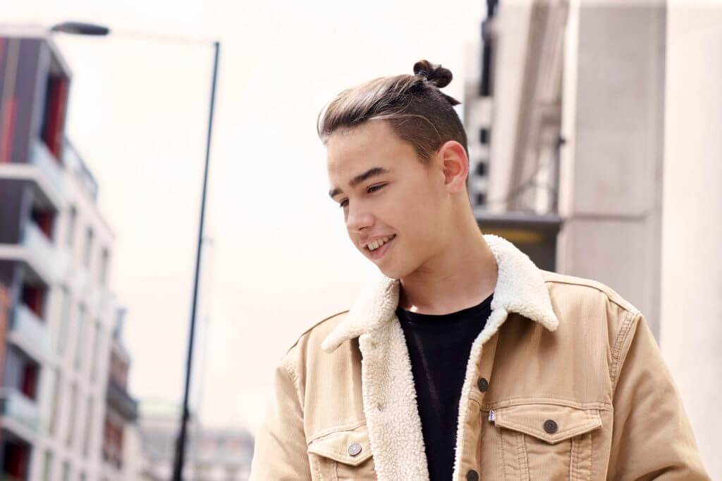 hairstyles for guys with long hair man bun