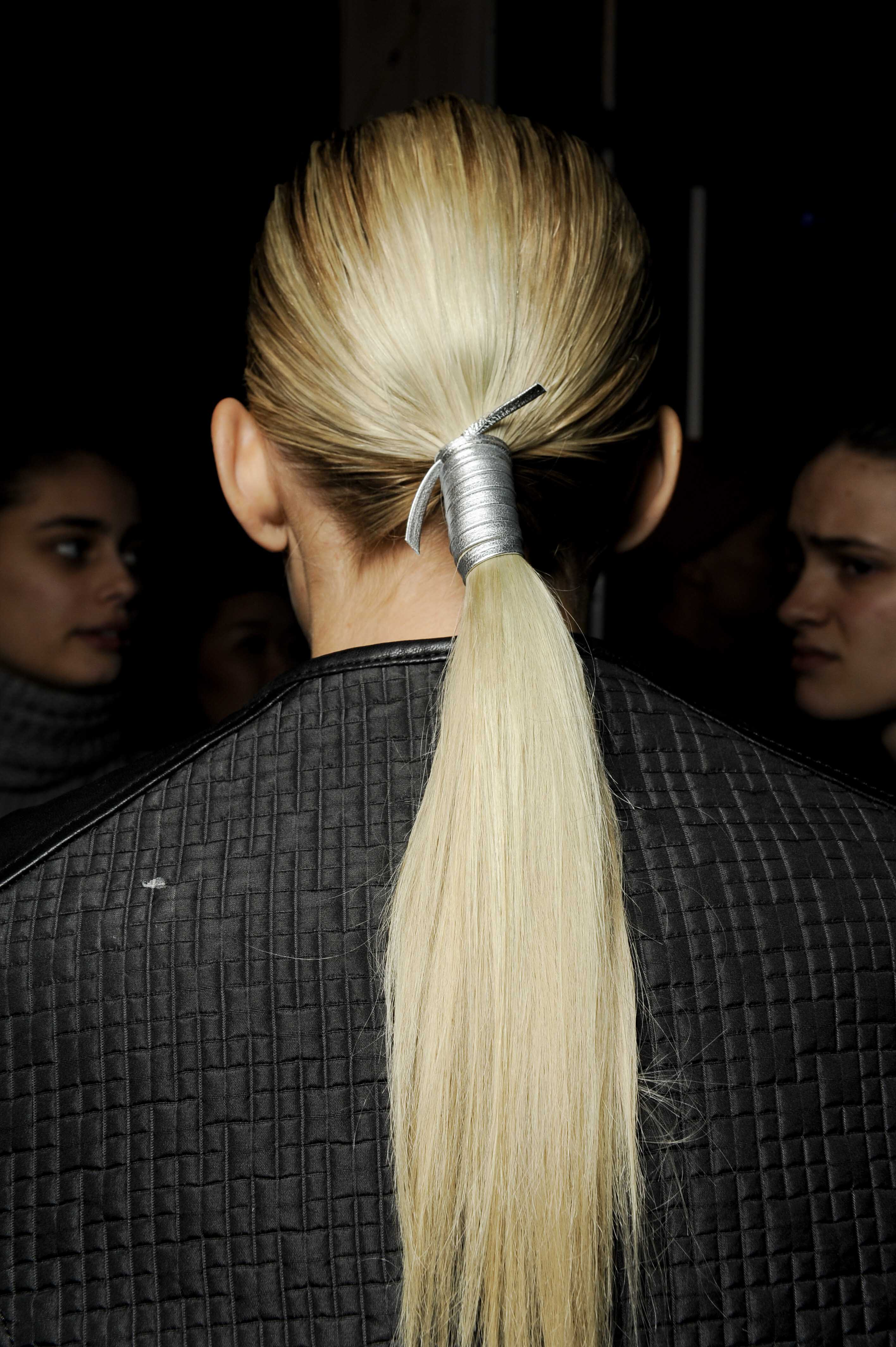 Thanksgiving Holiday Hairstyle ponytail updo