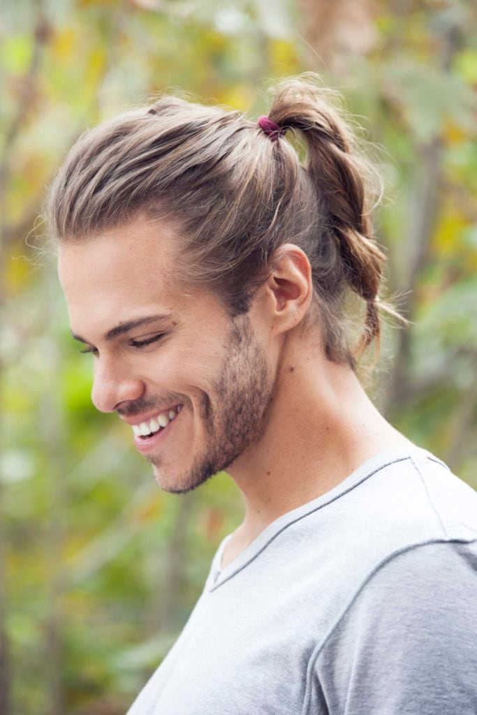 cool hairstyle man braid
