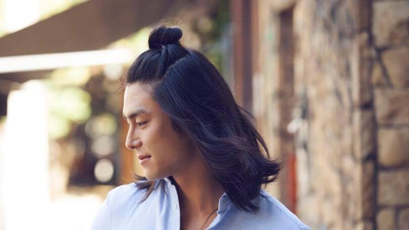 Asian Man Bun Half Bun How To Create The Look For