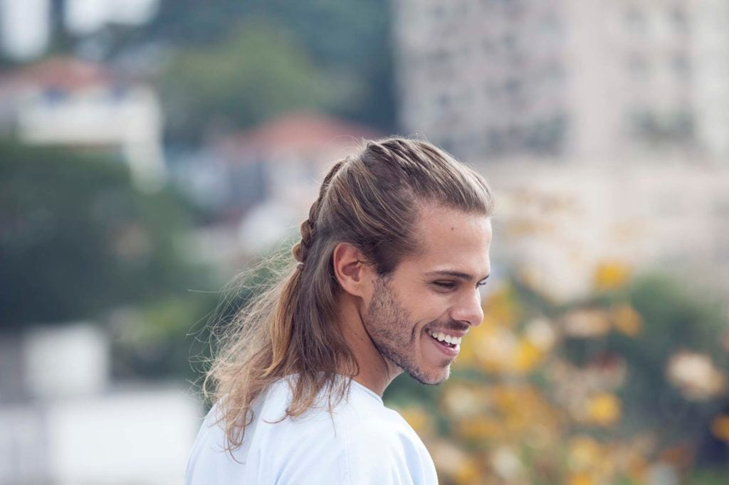 Corporate Casual: Cool Hairstyles For Guys With Long Hair
