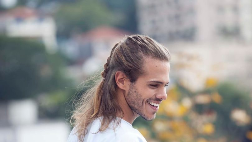 Corporate Casual Cool Hairstyles For Guys With Long Hair