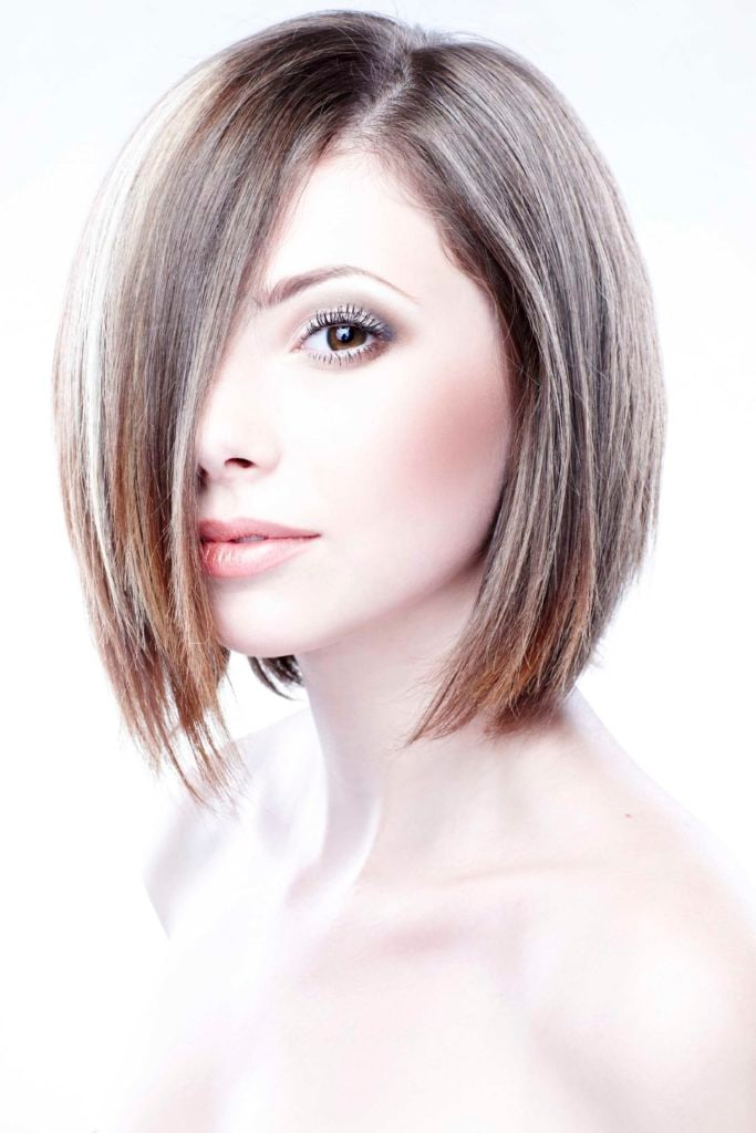 evolution of the power bob cut celebrity razored ends