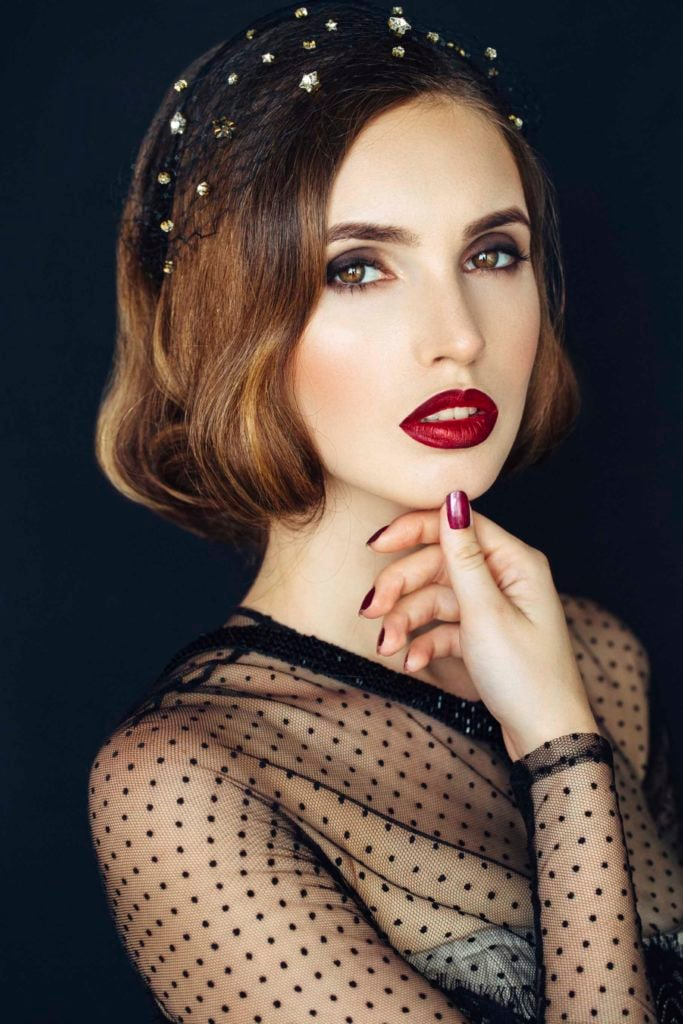 hairstyles for formal occasions vintage waves
