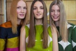 permanent straightening straight hair