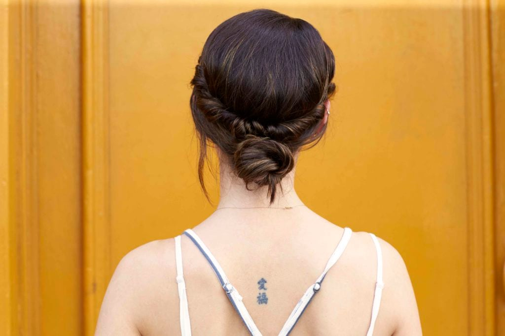 new hairstyles for women twisted bun