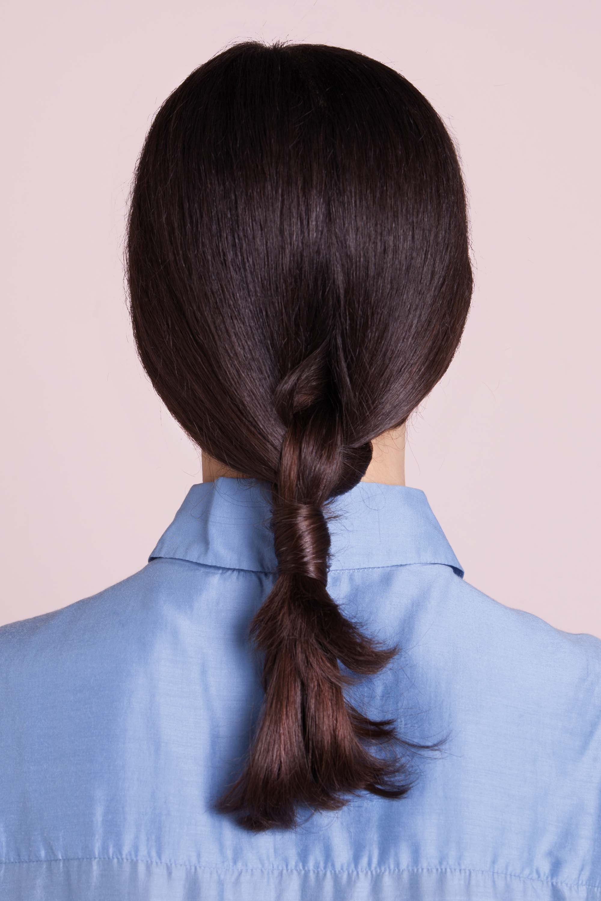 cute ponytail low style complete look