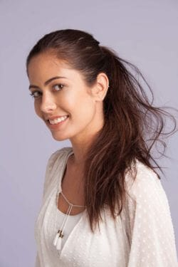 add volume and body to your ponytail