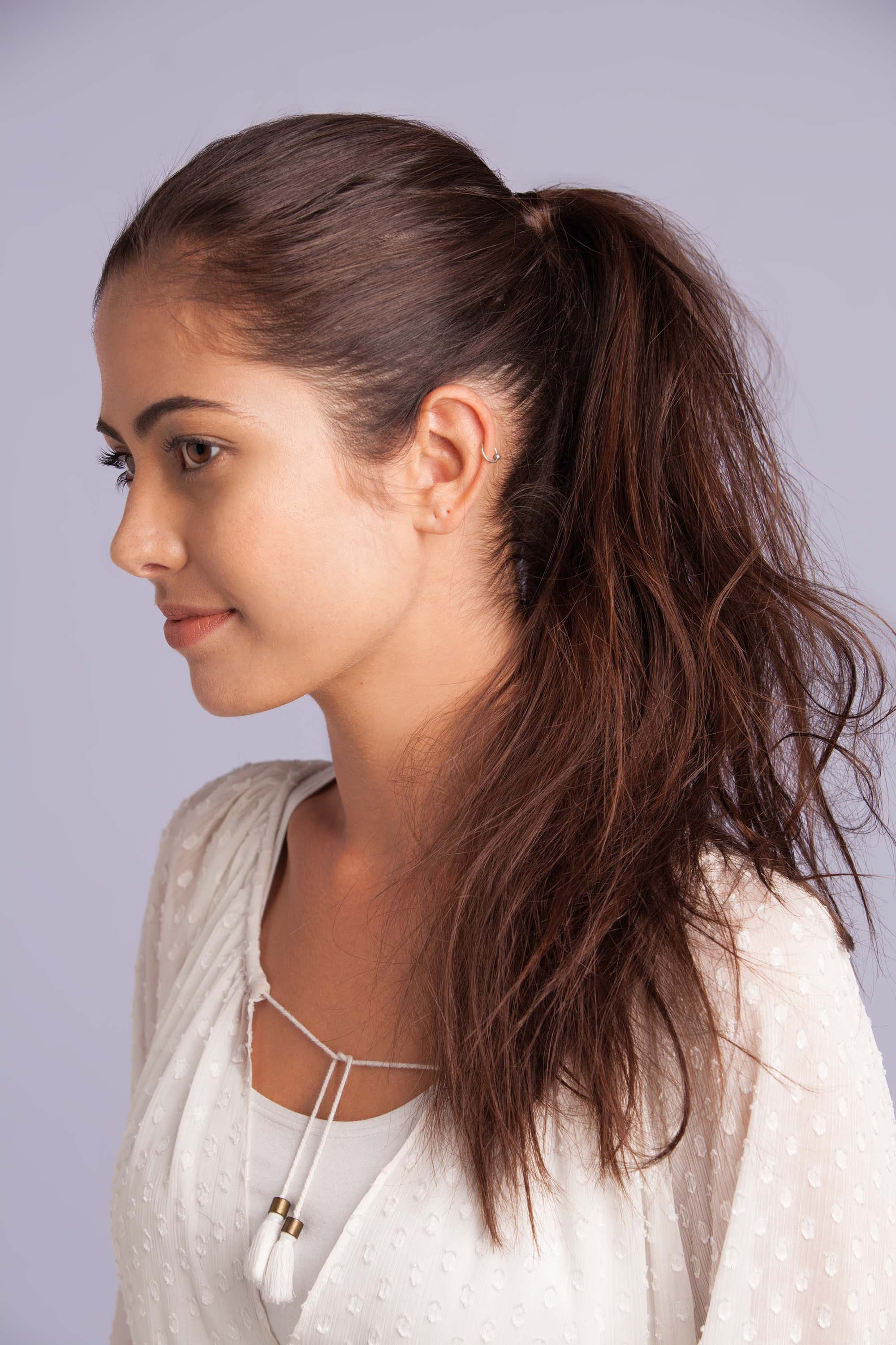 Tutorial How To Create Volume To Your Ponytail