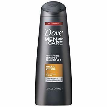 DOVE MEN+CARE THICK & STRONG FORTIFYING 2-IN-1 SHAMPOO + CONDITIONER