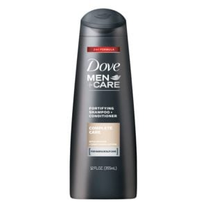 DOVE MEN+CARE COMPLETE CARE FORTIFYING 2 IN 1 SHAMPOO + CONDITIONER
