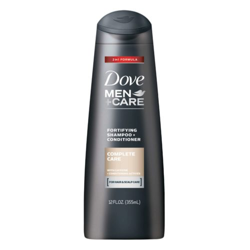 DOVE MEN+CARE COMPLETE CARE FORTIFYING 2-in-1 SHAMPOO + CONDITIONER