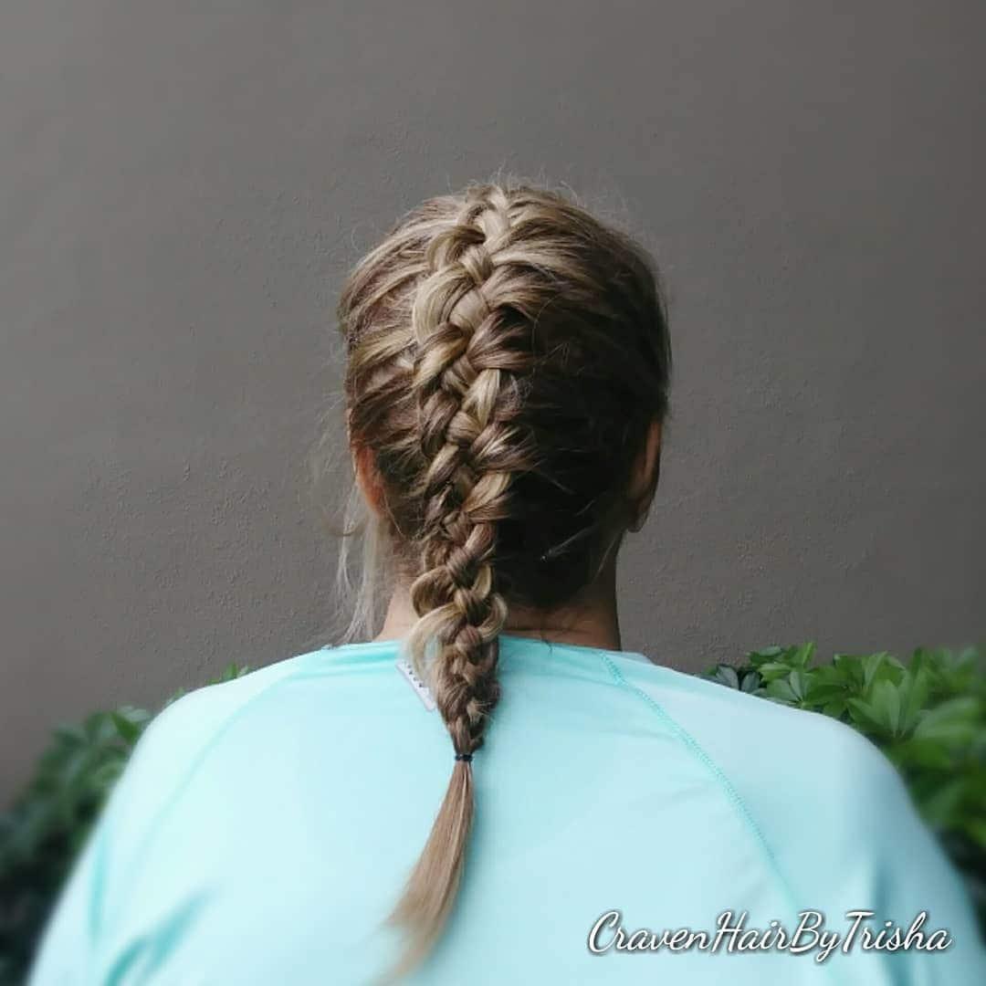 four strand braid French