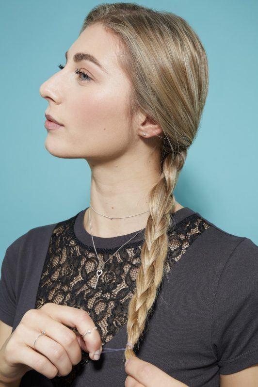 four strand braid secure