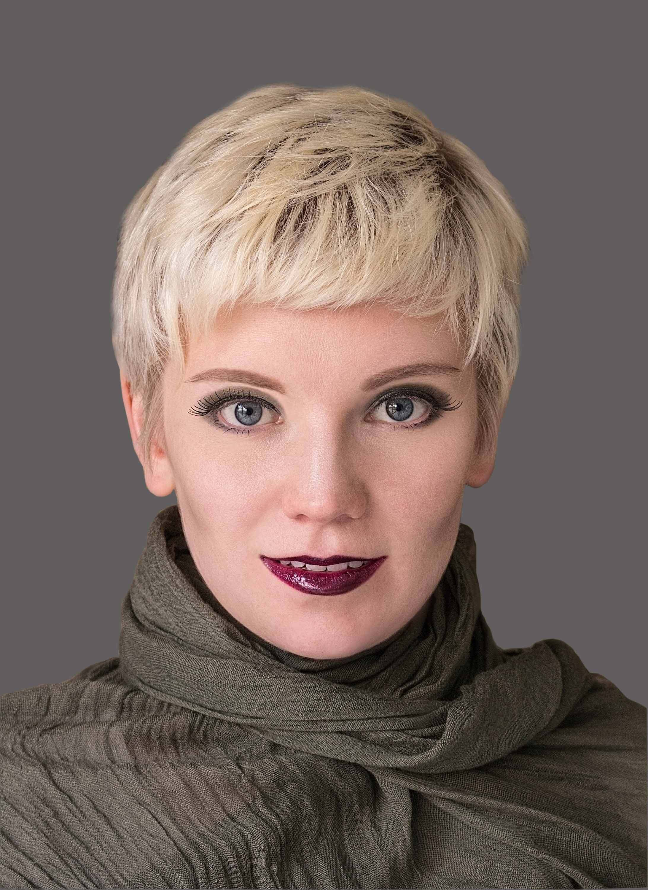 hairspray halloween hair color ideas pixie blonde