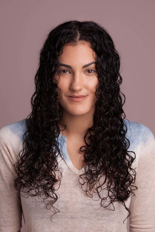 Tutorial How To Style Long Curly Hair