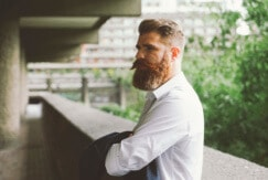 hairstyles for men with thick hair beards
