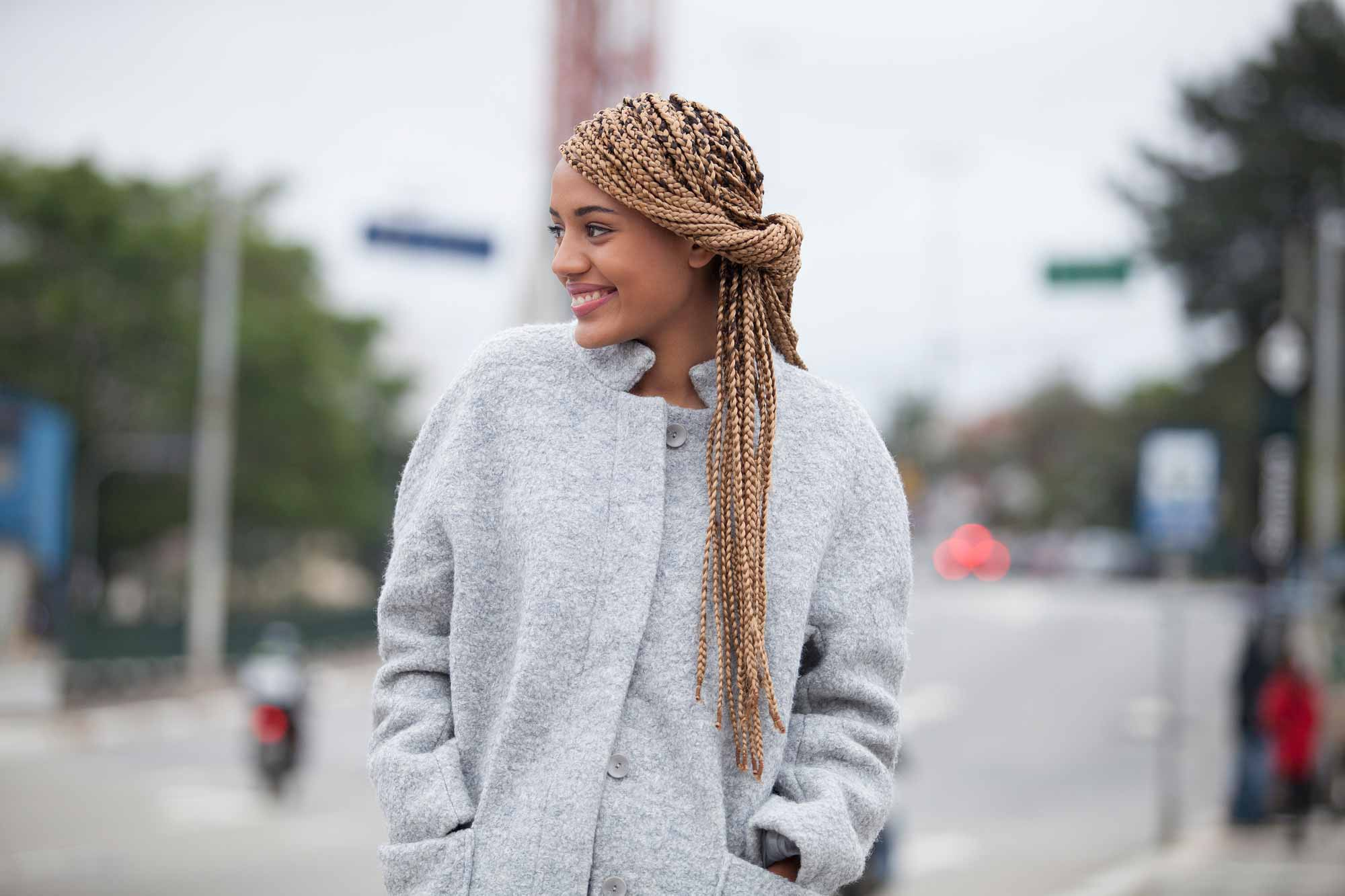 10 Super-Cute Styles With Box Braids To Wear Now