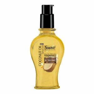 front view suave coconut oil infusion damage repair oil treatment shampoo