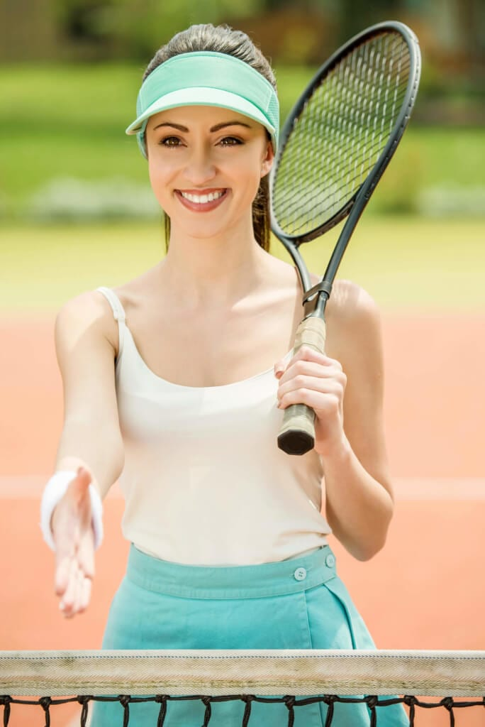 hair protection workout hairstyles tennis
