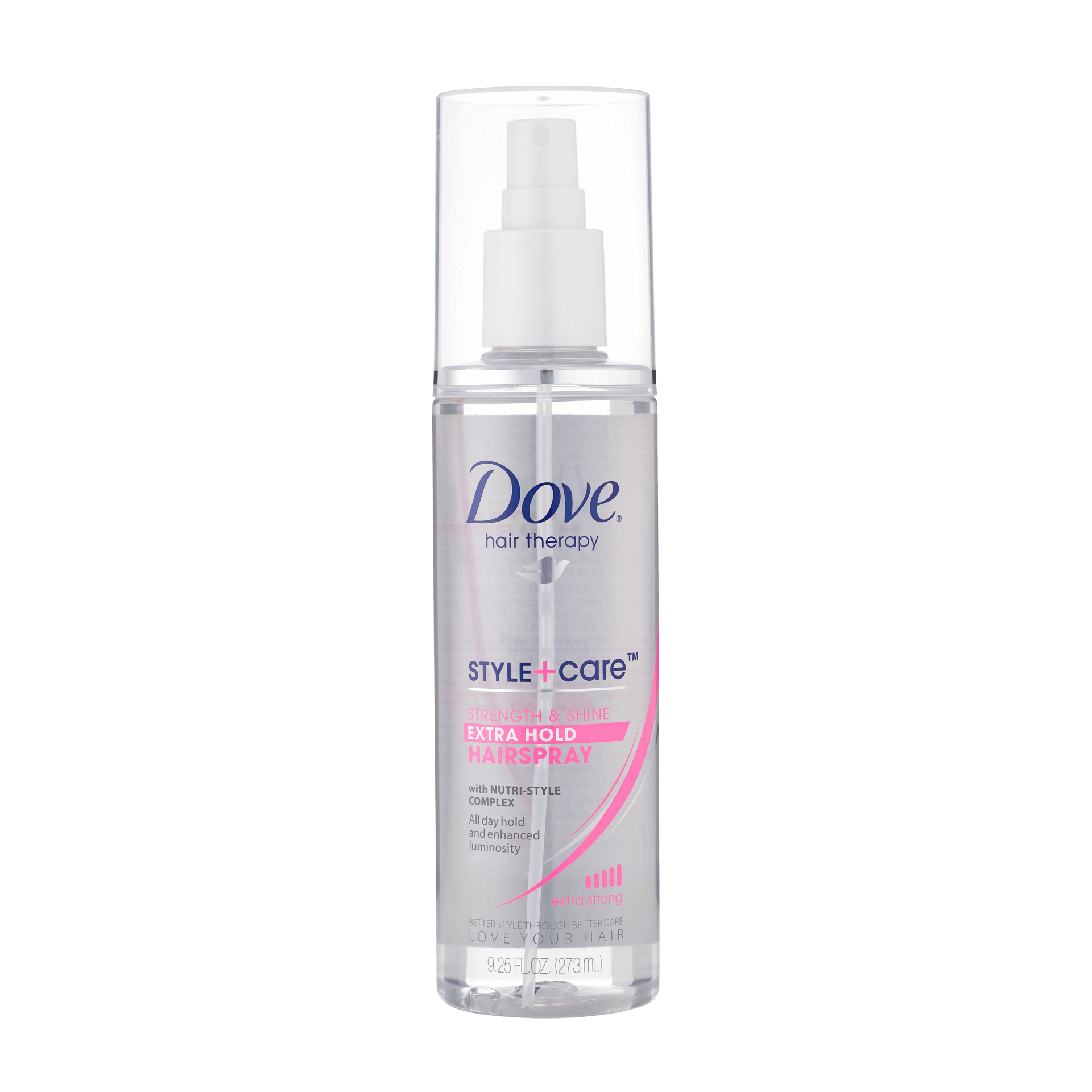 dove hair therapy style care dove style care hold non aerosol hairspray 7908