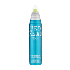Bed head by TIGI masterpiece shine hairspray front view