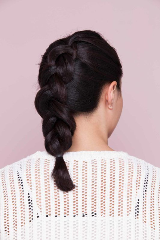 how to dutch braid in 3 easy steps