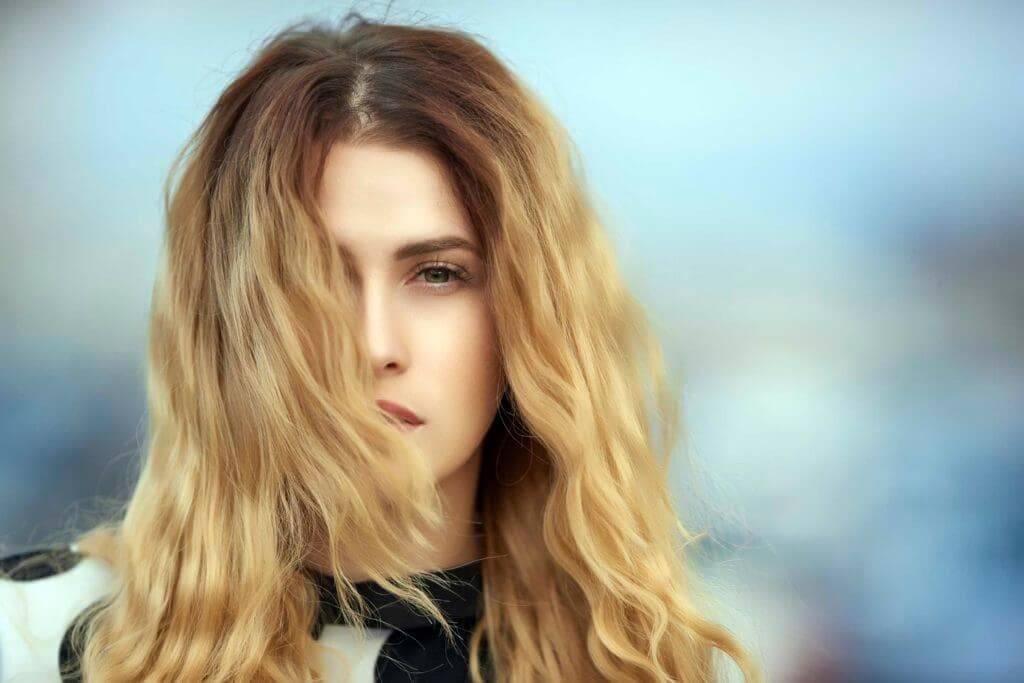 light brown hair light brown ombre