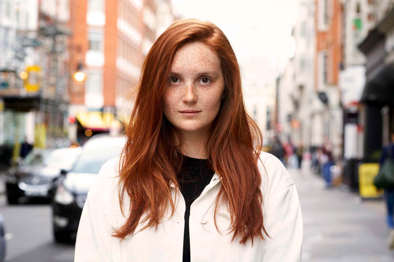 ginger hair straight