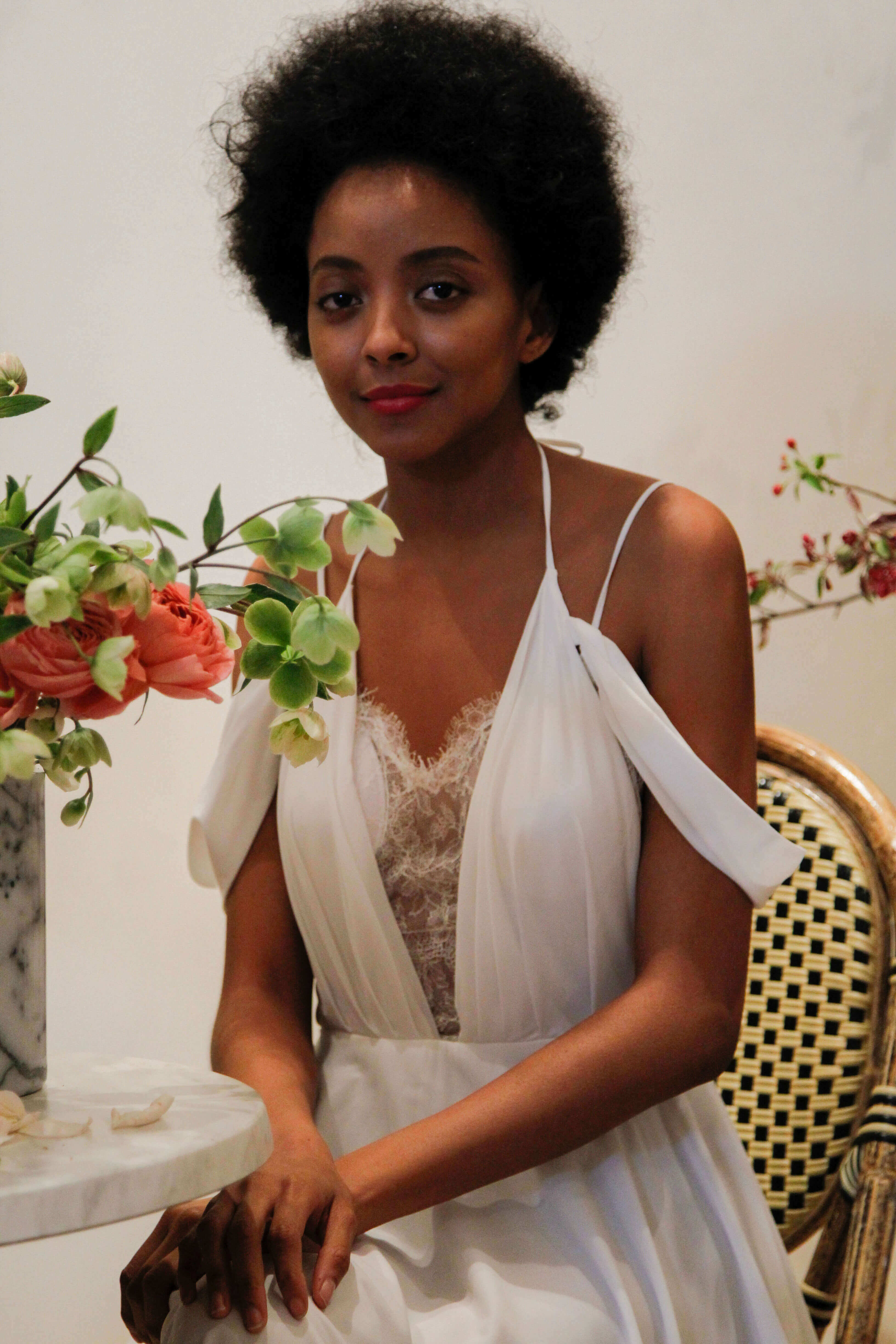 Wedding Hairstyles for Short Hair mini afro