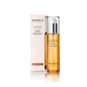 nexxus oil infinite nourishing hair oil front view