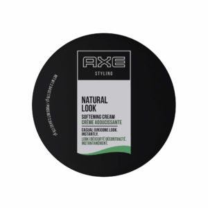 axe styling natural look softening cream top view