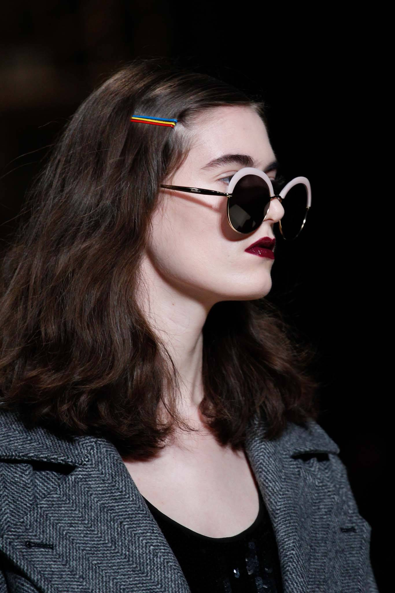 fall hair trends: bobby pin hair accessory