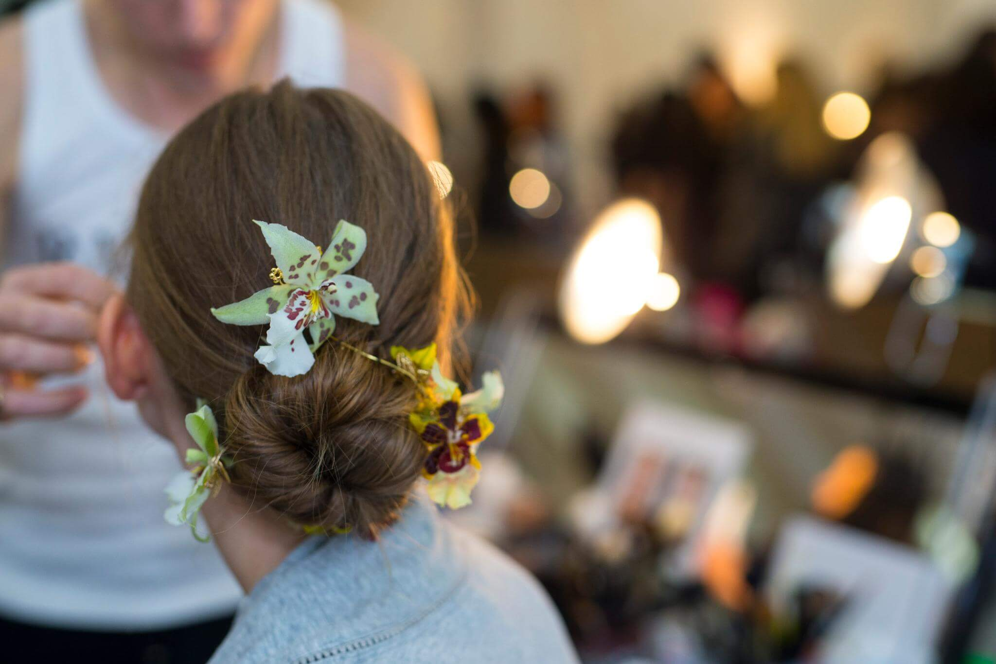 flower hair fall hair trends