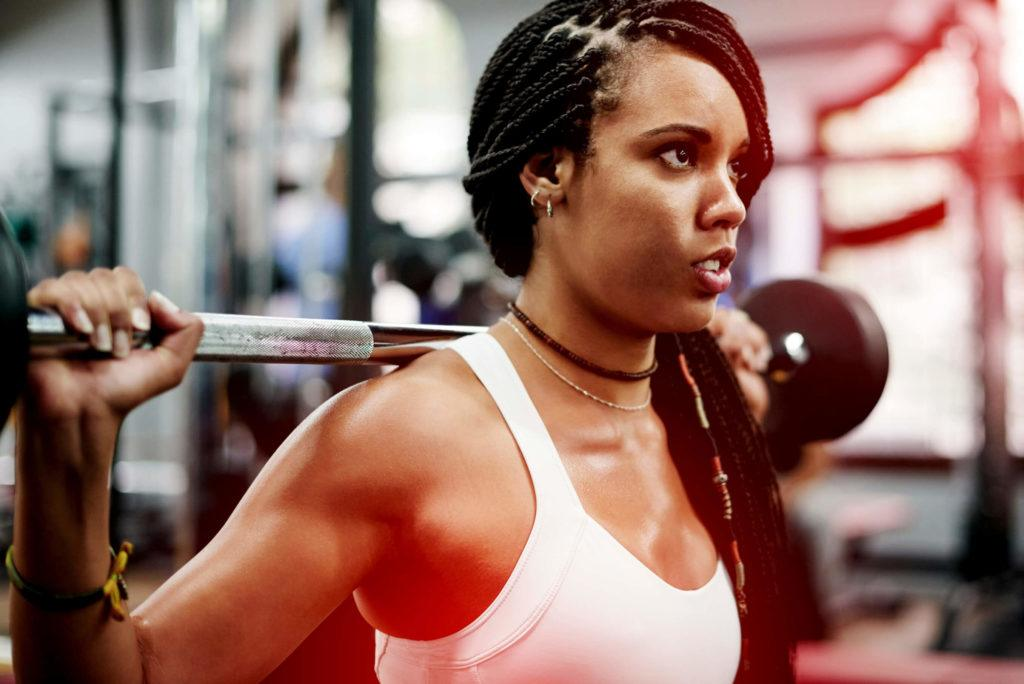 gym hairstyles braided