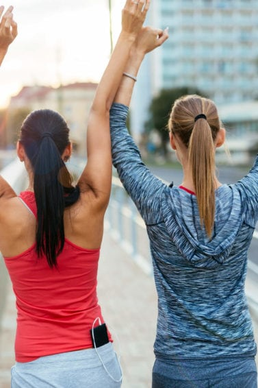 workout hairstyles ponytails are always a classic