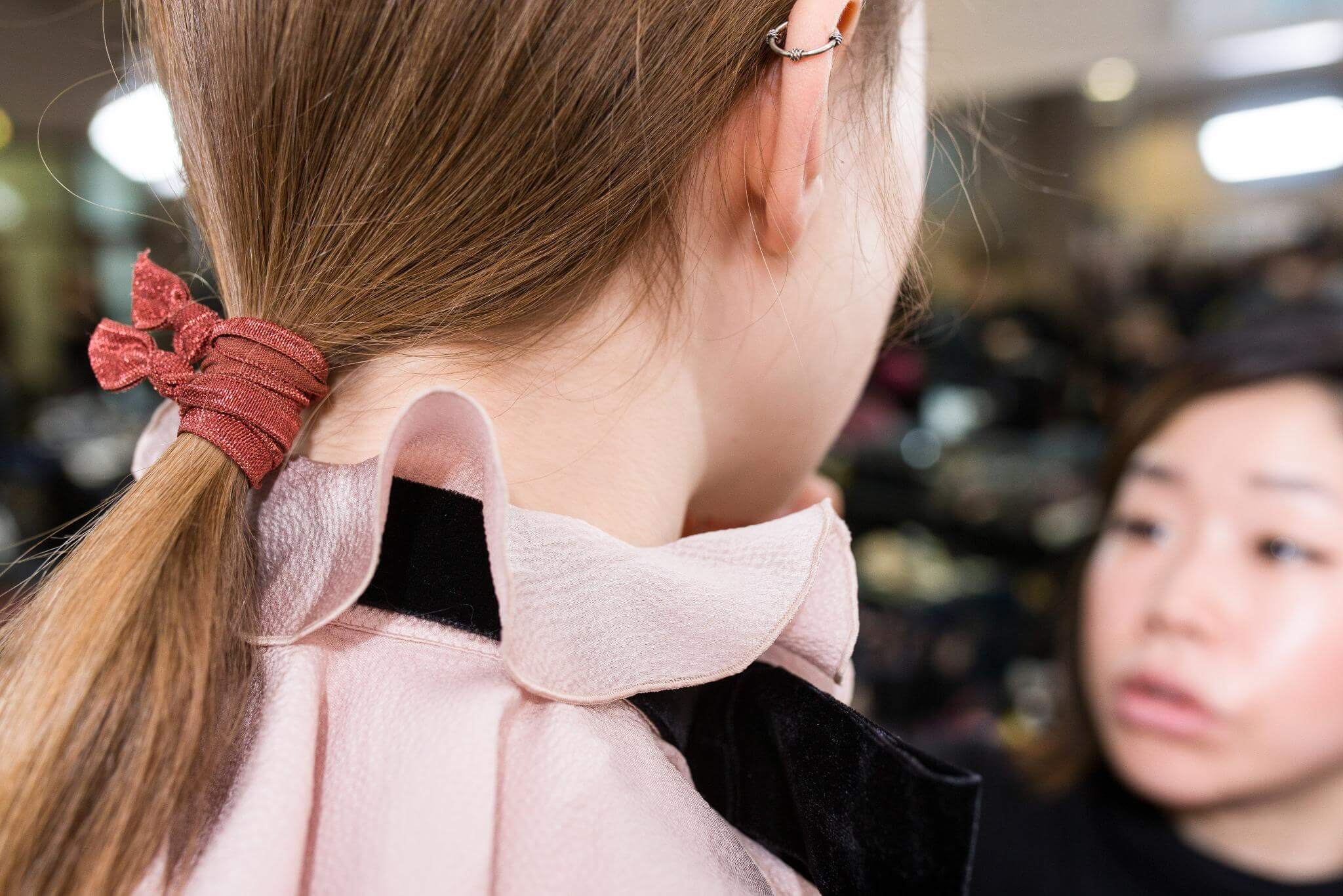 hair tie fall hair trends