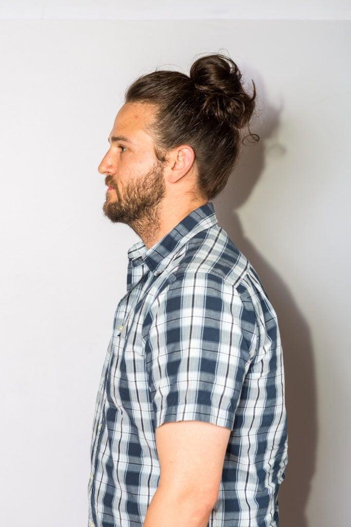 hairstyles for long hair men man bun