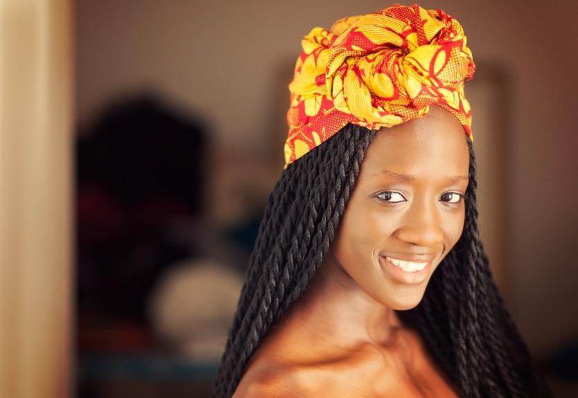 senegalese twist turban long